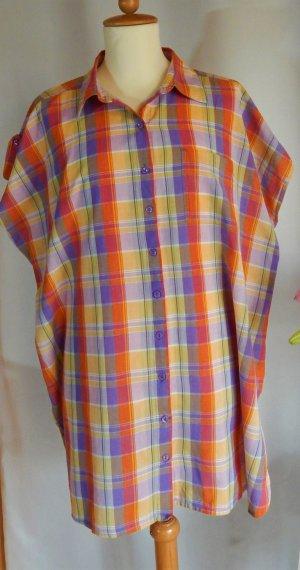 Camicetta lunga multicolore Cotone
