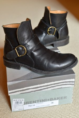 FIORENTINI & BAKER 36/37 Eternity lässige Ankleboots Leder schwarz