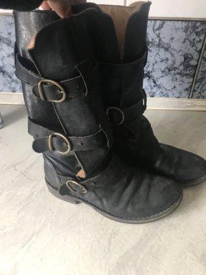 Fiorentini Baker Boots Eternity Schnallen Leder