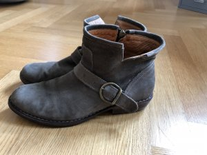 Fiorentini & baker Short Boots grey brown suede