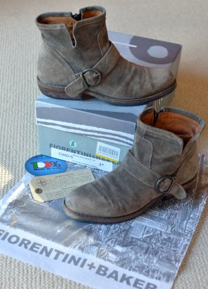 Fiorentini & baker Boots grey brown-grey leather