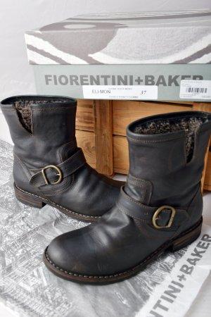 FIORENTINI & BAKER Eternity 37 gefüttert Stiefel Leder OVP neuwertig