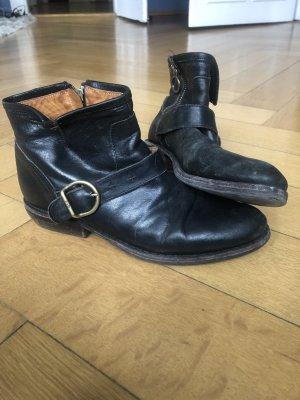 Fiorentini & baker Chelsea laarzen zwart-bruin