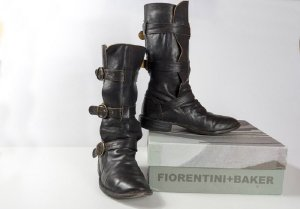 Fiorentini & baker Boots black leather