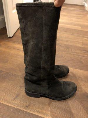 Fiorentini & Baker Stiefel Wildleder Boots Gr 38 (39)
