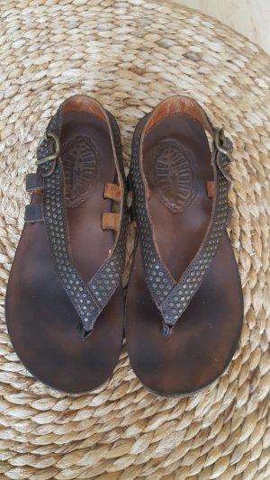 Fiorentini & baker Toe-Post sandals bronze-colored-dark brown