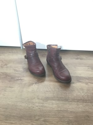 Fiorentini & baker Biker Boots purple leather
