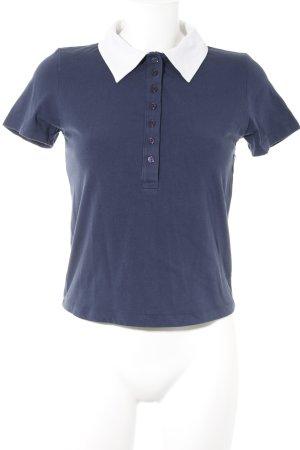 Fiorucci T-Shirt dunkelblau Motivdruck sportlicher Stil