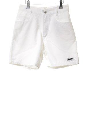 Fire + ice High-Waist-Shorts weiß Casual-Look