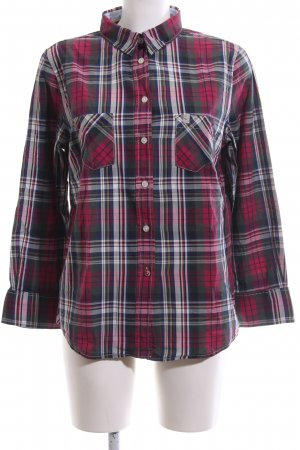 Fire + ice Lumberjack Shirt check pattern casual look