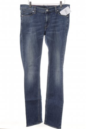 Fire + ice Slim jeans donkerblauw casual uitstraling