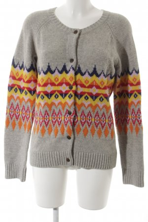 Fire + ice Strickjacke Ikatmuster Casual-Look