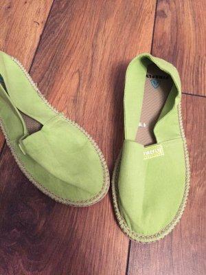 Firefly Espadrille sandalen weidegroen-grasgroen