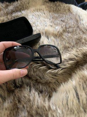 Chanel Angular Shaped Sunglasses black
