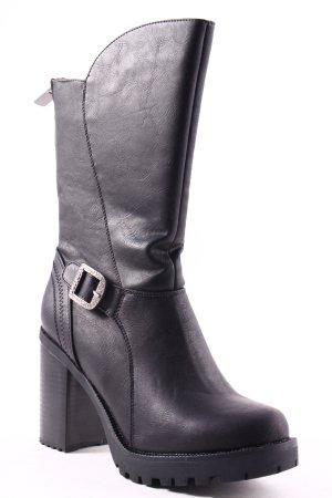 Firetrap Ankle Boots schwarz extravaganter Stil