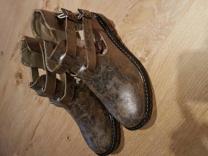 firetrap Boots, Silber optik, sportlich, schick