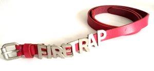 FIRETRAP - Pinker Ledergürtel