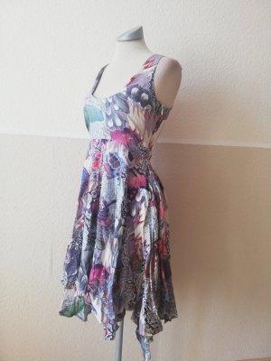 Firetrap Sommerkleid Kleid Zipfelkleid bunt Gr. XS 34 neu