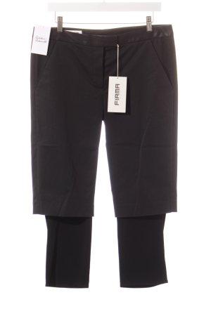 FIRMA Berlin Pantalon 3/4 noir style superposé