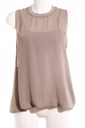FIRMA Berlin Blusentop taupe Casual-Look