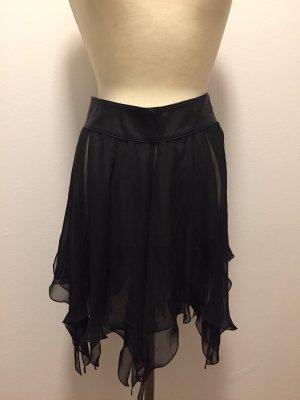 FIRMA Berlin Leather Skirt black