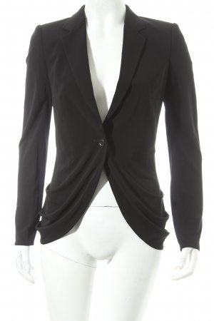 FIRMA Berlin Kurz-Blazer schwarz Business-Look