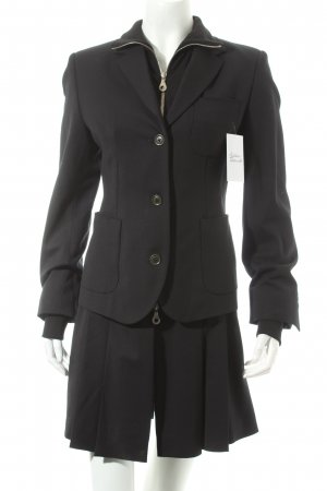 FIRMA Berlin Long-Blazer schwarz Street-Fashion-Look