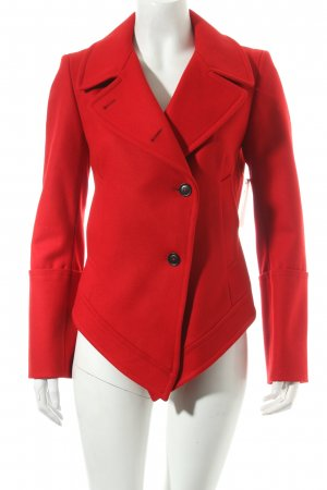 FIRMA Berlin Wolljacke rot Street-Fashion-Look