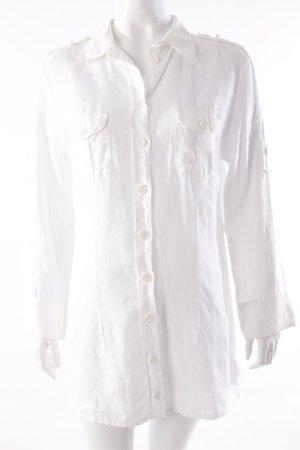Fischer Leinen-Blusenkleid weiß