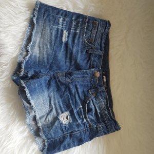 Fishbone Jeans-Shorts