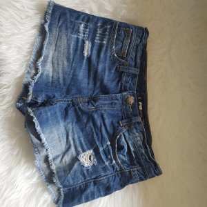 Fishbone Jeans-Shorts