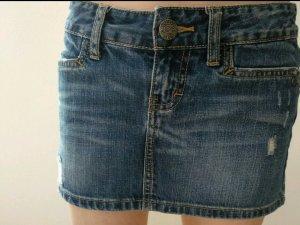 Fishbone Jeansjurk donkerblauw