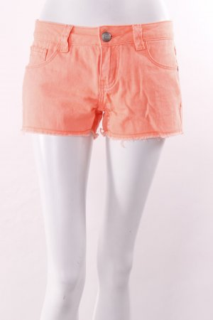 Fishbone Jeansshorts neon-orange