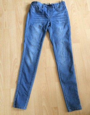 Fishbone Tube Jeans azure-light blue