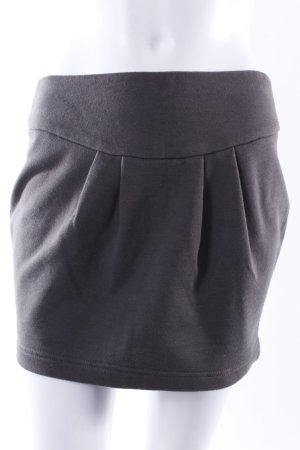 Fishbone Jersey-Minirock khaki