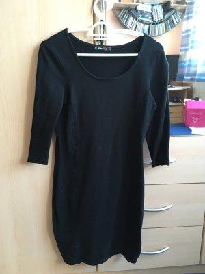 Fishbone-Kleid schwarz Gr. S