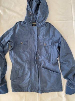 Fishbone leichte Jacke blau