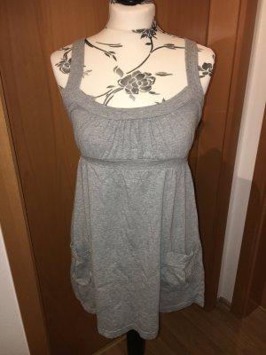 Fishbone New Yorker Jerseykleid Kleid grau M