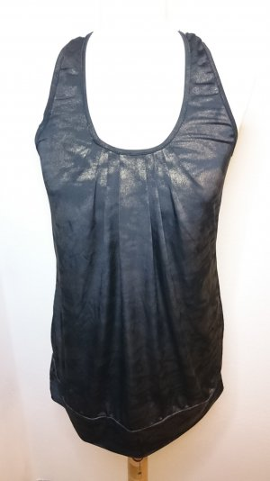 ★ Fishbone Partytop schwarz/gold ★