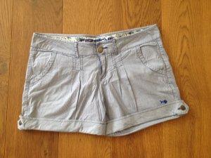 Fishbone Shorts blau-weiß ORIGINAL - WIE NEU!