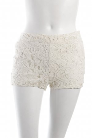 Fishbone Shorts creme florales Muster Beach-Look