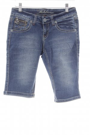 Fishbone Short korenblauw casual uitstraling
