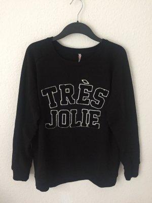 Fishbone Sweatshirt mit Print