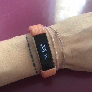 Fitbit Alta HR Korallrot in S