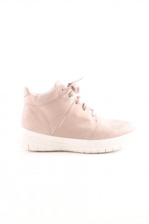 Fitflop High Top Sneaker pink-weiß Casual-Look