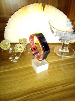 Bracelet black-red