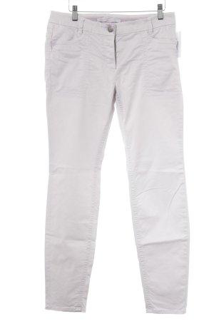 Pantalon cinq poches vieux rose style décontracté