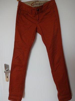 Five Slim. Jeans von EDC by Esprit in rostrot.