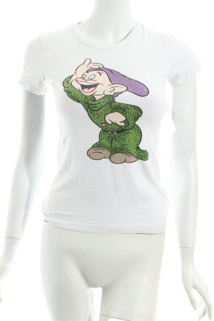 Fixdesign T-Shirt Motivdruck Casual-Look