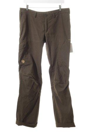 Fjällräven Cargo Pants khaki athletic style